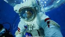 神舟十二号飞行乘组模拟失重环境水下训练大片来袭!