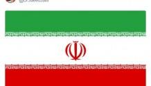 伊朗革命卫队突袭美军基地后,伊朗高级官员在推特上发了这样一张图片......