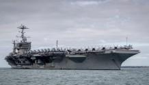 """""""罗斯福""""号出现死亡病例后另一艘美军航母回国后不敢靠岸"""