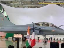 """法国""""阵风""""战机首批次5架战机或将于本月底运抵印度"""