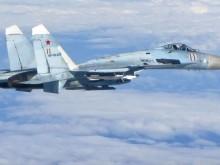 俄罗斯战机24小时内2次拦截美军侦察机