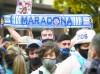百万球迷送别马拉多纳,阿根廷总统费尔南德斯到现场悼念