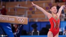 第32金!管晨辰获得奥运会体操女子平衡木金牌