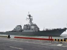 美军驱逐舰驶入乌克兰港口,俄战机抵近飞出模拟空袭动作