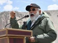 英媒:莫迪突然跑到中印边境冲突地区作秀 提印军士气要继续修路架桥