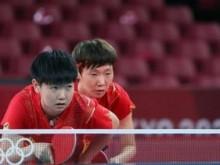 东京奥运会乒乓球:中国男、女团双双晋级八强
